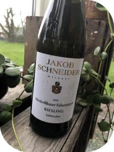 2018 Weingut Jakob Schneider, Niederhäuser Felsensteyer Riesling Halbtrocken, Nahe, Tyskland