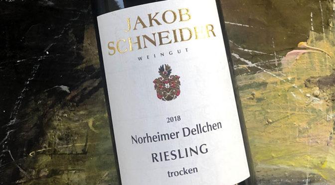 2018 Weingut Jakob Schneider, Norheimer Dellchen Riesling Trocken, Nahe, Tyskland