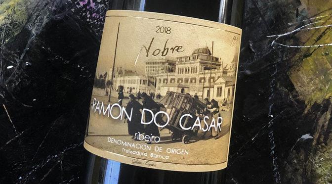 2018 Ramón do Casar, Treixadura Nobre, Galicien, Spanien