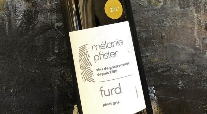 2018 Mélanie Pfister, Furd Pinot Gris, Alsace, Frankrig