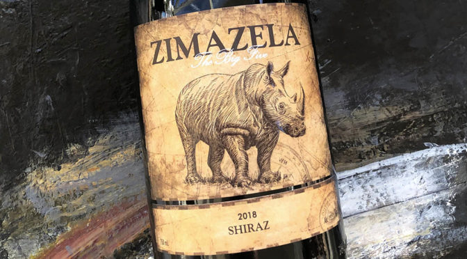 2018 Darling Cellars, Zimazela The Big Five Shiraz, Western Cape, Sydafrika