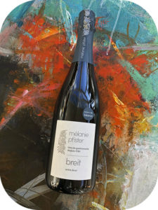 2016 Mélanie Pfister, Breit Blanc de Blancs Cremant d'Alsace Extra Brut, Alsace, Frankrig
