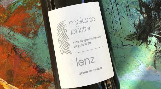 2017 Mélanie Pfister, Lenz Gewurztraminer, Alsace, Frankrig