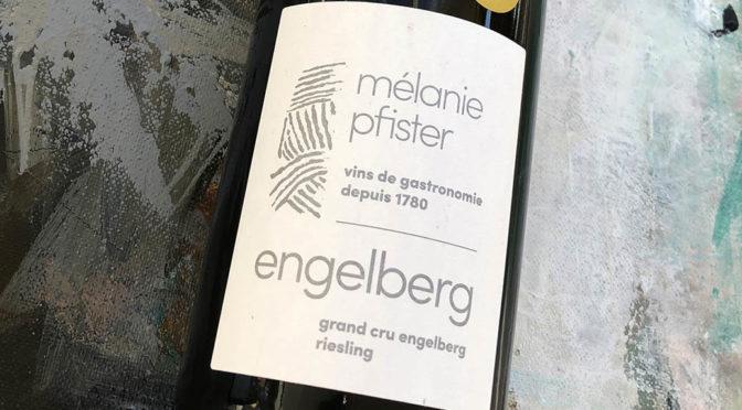 2016 Mélanie Pfister, Riesling Grand Cru Engelberg, Alsace, Frankrig