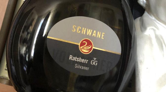 2016 Weingut Schwane, Volkacher Ratsherr Silvaner GG, Franken, Tyskland