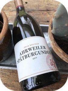 2017 Weingut Julia Bertram, Ahrweiler Spätburgunder, Ahr, Tyskland