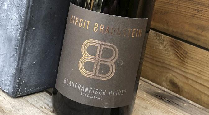 2016 Weingut Birgit Braunstein, Blaufränkisch Heide, Burgenland, Østrig