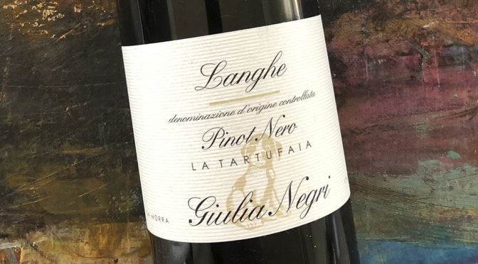 2012 Giulia Negri, Langhe Pinot Nero La Tartufaia, Piemonte, Italien