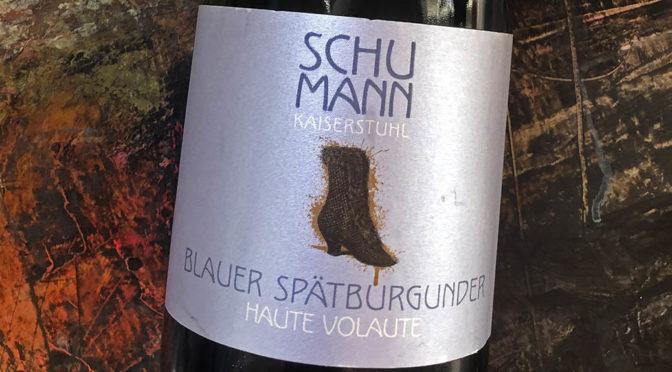 2015 Weinhaus Bettina Schumann, Blauer Spätburgunder Haute Volaute, Baden, Tyskland