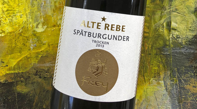 2013 Weingut Otto & Martin Frey, Glottertaler Eichberg Spätburgunder Alte Rebe, Baden, Tyskland
