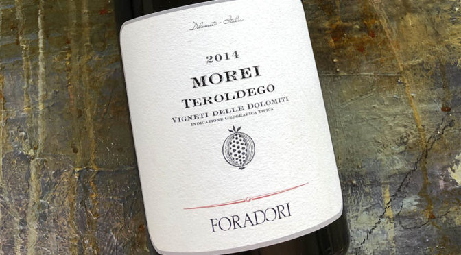 2014 Foradori, Morei Teroldego Vigneti delle Dolomiti, Alto Adige, Italien