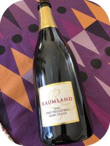 2010 Sekthaus Raumland, Pinot Blanc de Noirs Prestige Brut, Rheinhessen, Tyskland