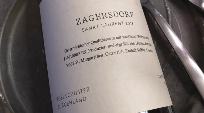 2013 Weingut Rosi Schuster, Zagersdorf Sankt Laurent, Burgenland, Østrig