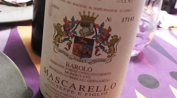 2011 Mascarello, Barolo Monprivato, Piemonte, Italien