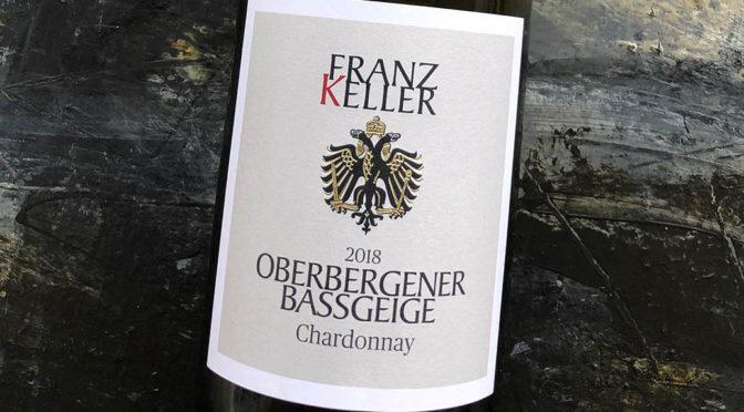 2018 Weingut Franz Keller Schwarzer Adler, Oberbergener Bassgeige Chardonnay, Baden, Tyskland