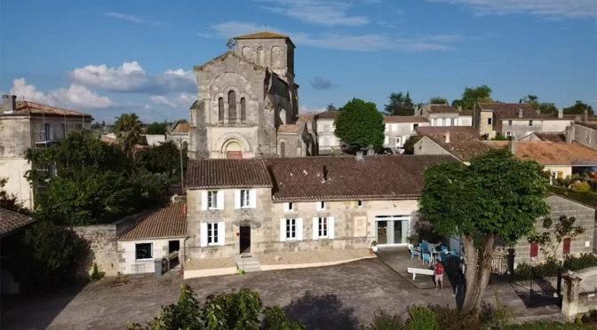 2019 Château Surain, Mademoiselle Voila Blanc, Bordeaux, Frankrig