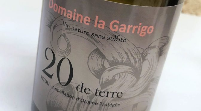 2016 Domaine La Garrigo, Fitou 20 de Terre, Languedoc, Frankrig