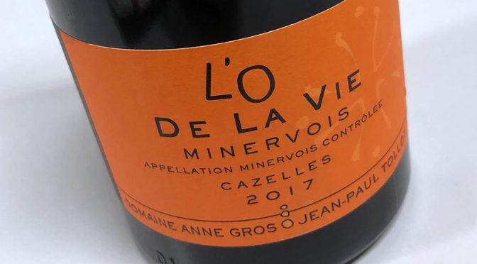 2017 Domaine Anne Gros & Jean-Paul Tollot,Minervois L'O de la Vie, Languedoc, Frankrig