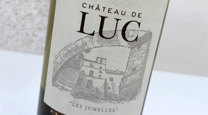 2017 Château de Luc,Corbières Les Jumelles, Languedoc, Frankrig