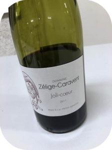 2017 Domaine Zélige-Caravent,Pic Saint Loup Joli-Cœur, Languedoc, Frankrig
