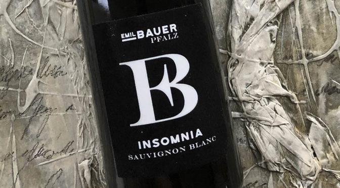 2019 Weingut Emil Bauer & Söhne, Insomnia Sauvignon Blanc, Pfalz, Tyskland