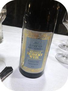 2017 Weingut Robert Weil, Kiedrich Gräfenberg Riesling GG, Rheingau, Tyskland