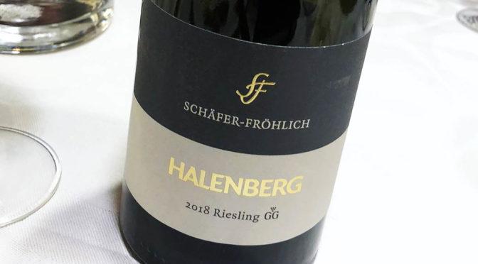 2018 Weingut Schäfer-Fröhlich, Monzinger Halenberg Riesling GG, Nahe, Tyskland