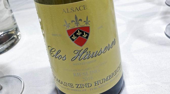 2016 Domaine Zind-Humbrecht, Riesling Clos Häuserer, Alsace, Frankrig