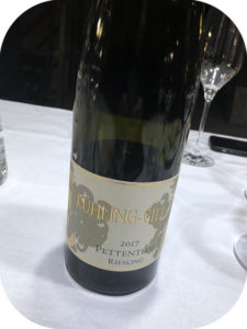 2017 Weingut Kühling-Guillot, Nierstein Pettenthal Riesling GG, Rheinhessen, Tyskland