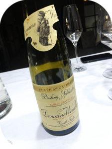 2017 Domaine Weinbach, Riesling Schlossberg Grand Cru Cuvée Ste Catherine, Alsace, Frankrig