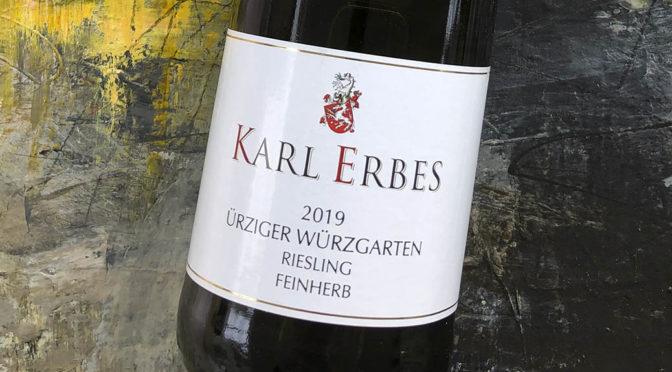 2019 Weingut Karl Erbes, Ürziger Würzgarten Riesling Feinherb, Mosel, Tyskland