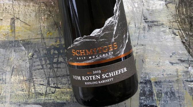 2019 Weingut Schmitges, Riesling vom Roten Schiefer Kabinett, Mosel, Tyskland