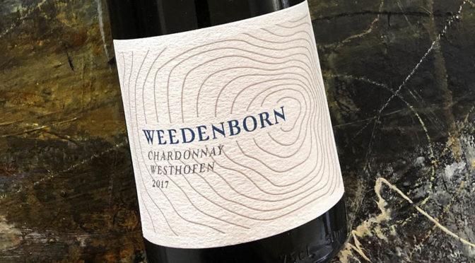 2017 Weingut Weedenborn, Westhofener Chardonnay, Rheinhessen, Tyskland