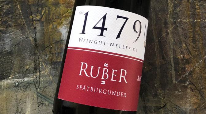 2017 Weingut Nelles, Ruber Spätburgunder Trocken, Ahr, Tyskland