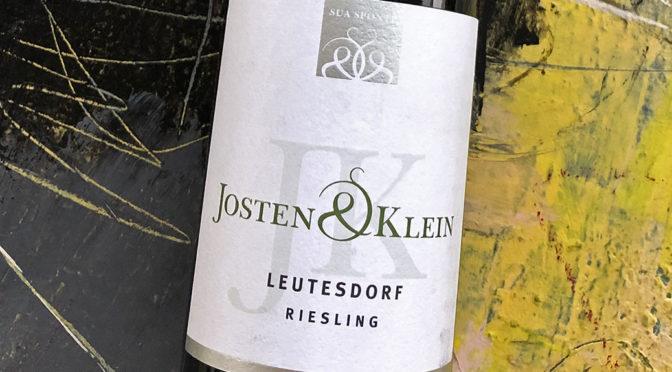 2015 Weingut Josten & Klein, Leutesdorf Riesling Trocken, Mittelrhein, Tyskland