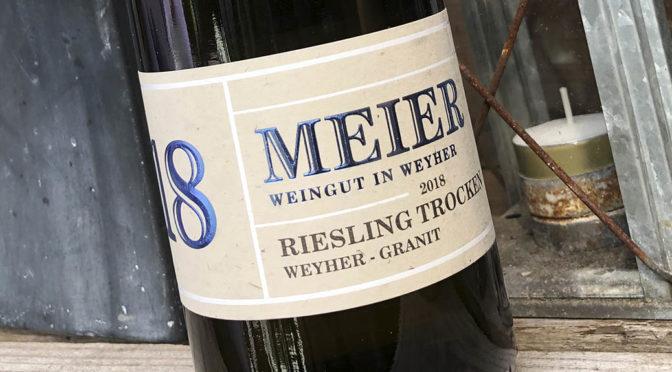 2018 Weingut Meier, Riesling Weyher Granit, Pfalz, Tyskland