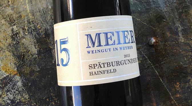 2015 Weingut Meier, Hainfeld Spätburgunder, Pfalz, Tyskland