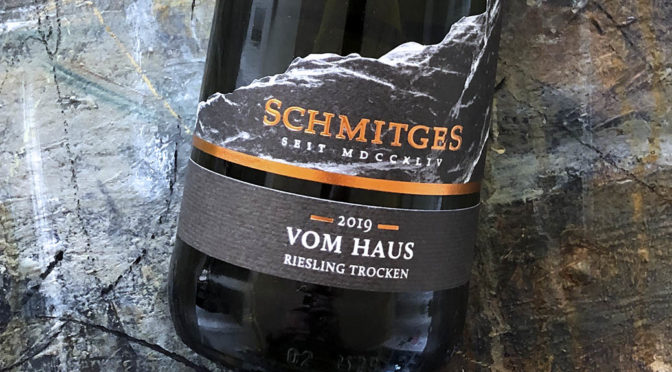 2019 Weingut Schmitges, Riesling vom Haus, Mosel, Tyskland