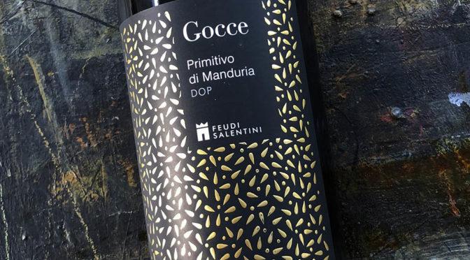 2016 Feudi Salentini, Gocce Primitivo di Manduria, Puglia, Italien