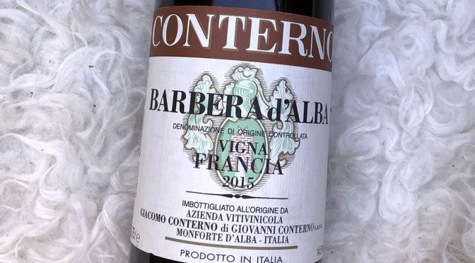 2015 Giacomo Conterno, Barbera d'Alba Vigna Francia, Piemonte, Italien