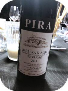 2017 Luigi Pira, Barbera d'Alba Superiore, Piemonte, Italien