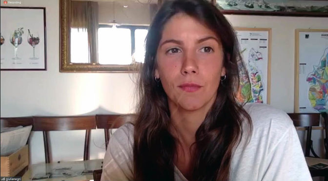 Houlberg møder Barologirl Giulia Negri … i virtuel onlinesmagning