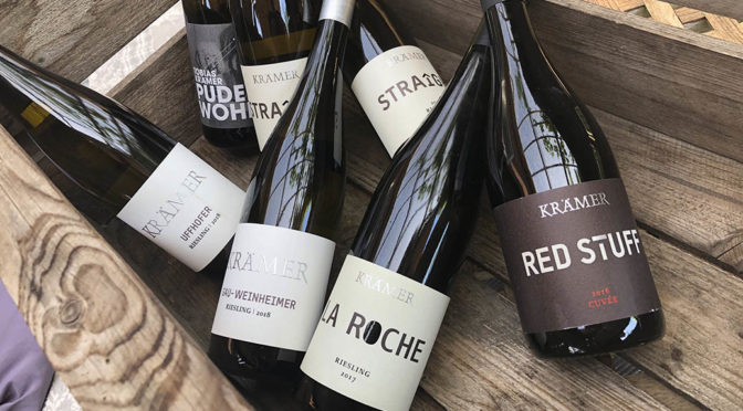 Houlberg tester en serie vine fra Weingut Krämer … fra det store Rheinhessen