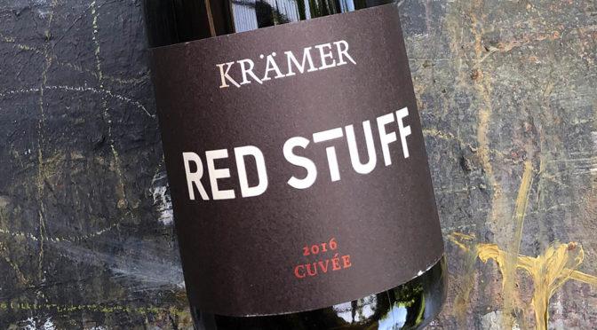 2016 Weingut Krämer, Cuvée Red Stuff, Rheinhessen, Tyskland