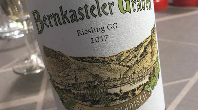 2017 Weingut Wwe. Dr. H. Thanisch Erben Thanisch, Bernkasteler Graben Riesling GG, Mosel, Tyskland