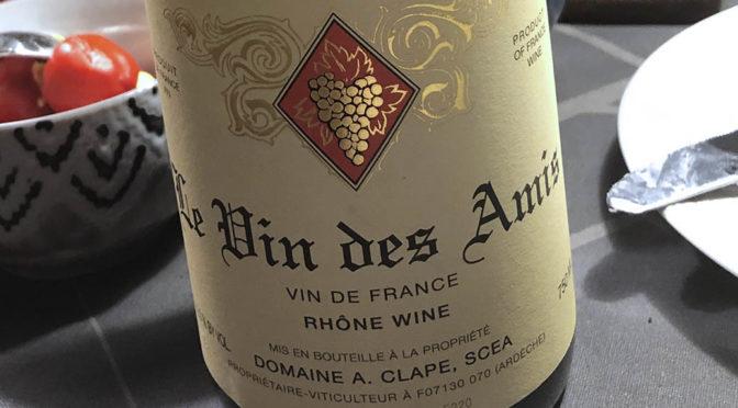 2016 A. Clape, Le Vin des Amis, Rhône, Frankrig