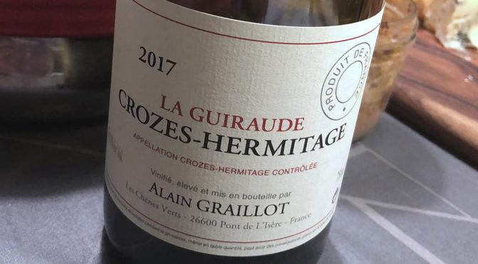 2017 Alain Graillot, Crozes-Hermitage La Guiraude, Rhône, Frankrig