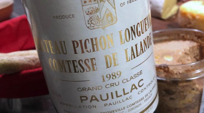 1989 Château Pichon Longueville Comtesse de Lalande, Pauillac 2. Grand Cru Classé, Bordeaux, Frankrig