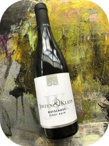 2015 Weingut Josten & Klein, Mayschloss Pinot Noir, Ahr, Tyskland