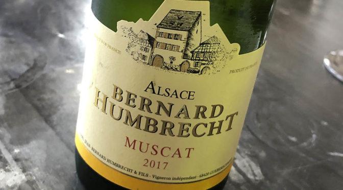2017 Bernard Humbrecht, Muscat, Alsace, Frankrig